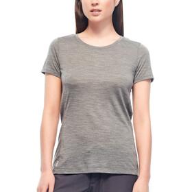 Icebreaker Sphere - Camiseta manga corta Mujer - gris
